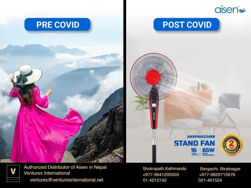 Aisen Stand Fan Price